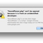 """How do I fix the """"App.pkg can't be opened because it is from an unidentified developer"""" error in OS X Mavericks?"""