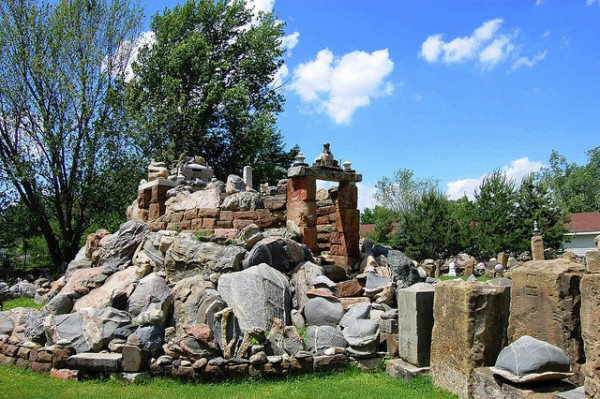 The Temple of Tolerance at the Rock Garden.