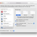 How to turn off email notifications in OS X 10.10 (Yosemite)