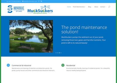 MuckSuckers – Making ponds healthy