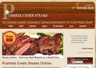 Pusheta Creek Steaks