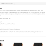 How to Fix WooCommerce Product Description Tab Border