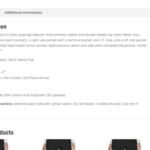 How to Fix WooCommerce Product Description Tab Border