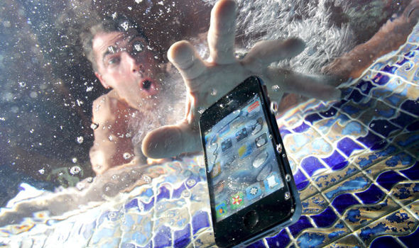 What to do with a water damaged mobile phone